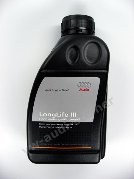 audi l longlife iii 5w 30 0 5 liter. Black Bedroom Furniture Sets. Home Design Ideas