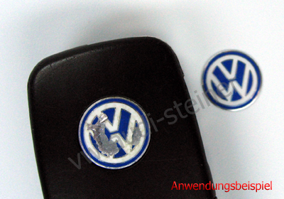 original vw schl ssel emblem. Black Bedroom Furniture Sets. Home Design Ideas